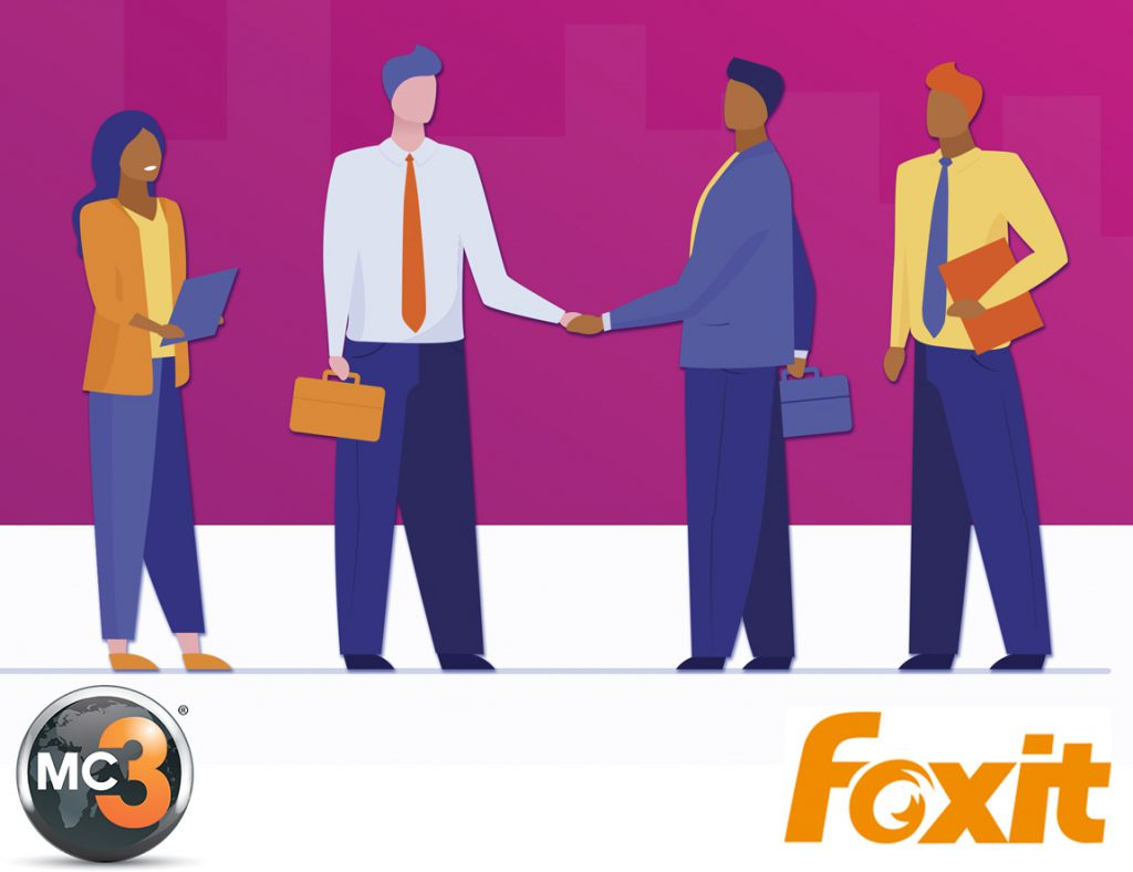 Partenariat MC3 et Foxit Software